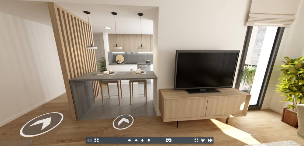 Visita tu nuevo hogar sin levantarte del sofá