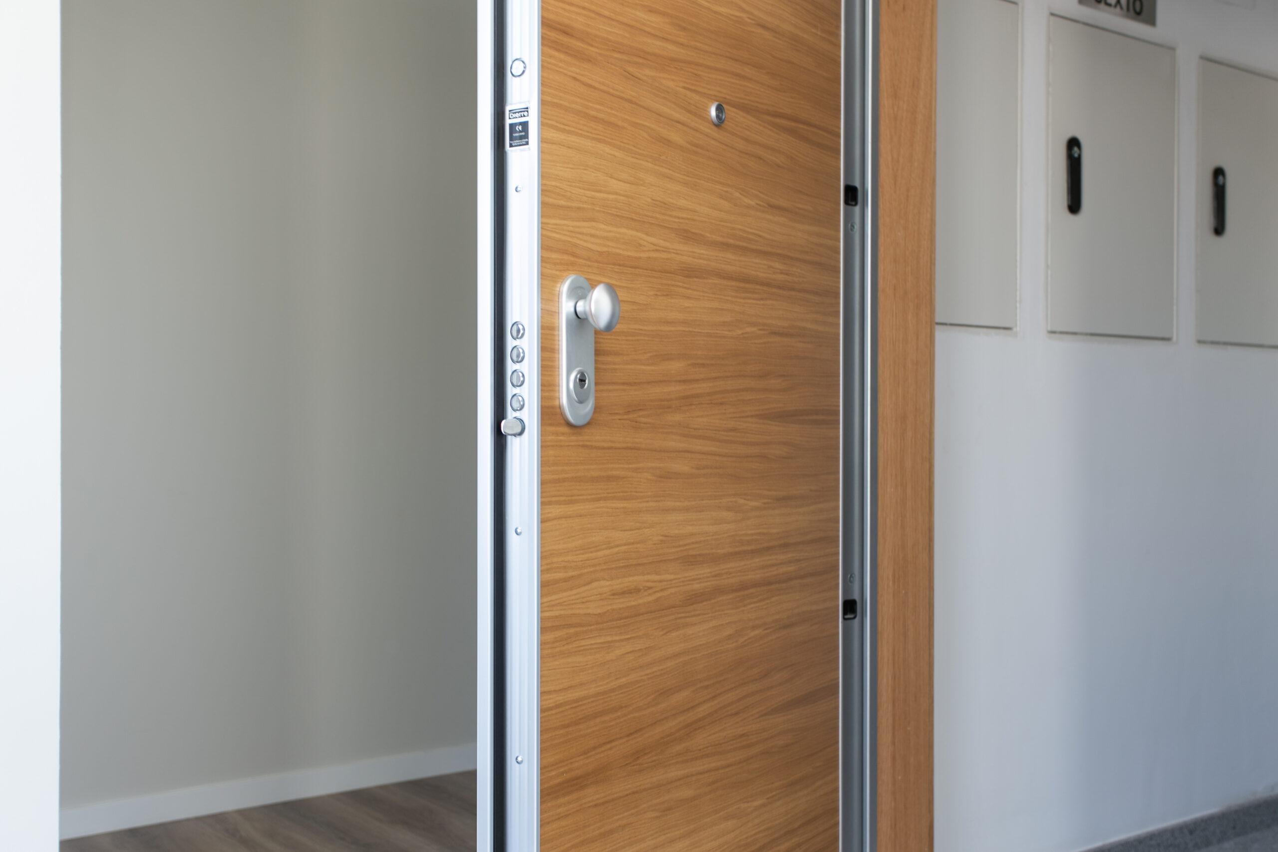 Tipos de puertas de entrada: blindadas, acorazadas y puertas de seguridad