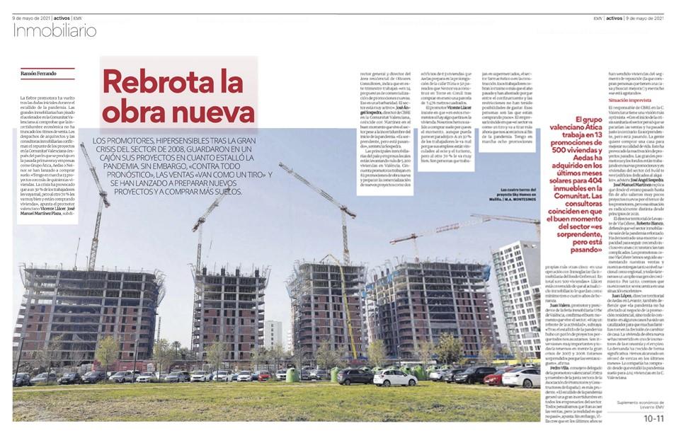 Juan Valero en el Levante EMV: «Hay un rebrote de la actividad»